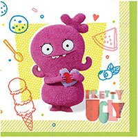 Ugly Dolls - Агли Доллс Салфетки большие Ugly Dolls Movie, 16 шт 1502-4756
