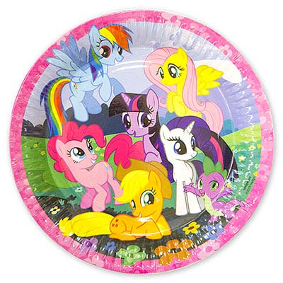 My Little Pony Тарелки My Little Pony 1502-1328