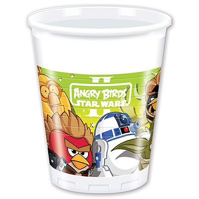 Angry Birds Стаканы Angry Birds STAR WARS, 8 штук 1502-1492
