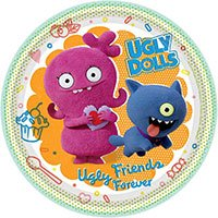 Ugly Dolls - Агли Доллс Тарелки малые Ugly Dolls Movie, 8 штук 1502-4791