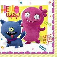Ugly Dolls - Агли Доллс Салфетки малые Ugly Dolls Movie, 16 штук 1502-4755