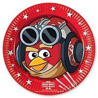Angry Birds Тарелки Angry Birds STAR WARS, 8 штук 1502-1505