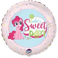 "My Little Pony Шар Ф 18"" WHAT A SWEET DAY Пони 1202-3038"